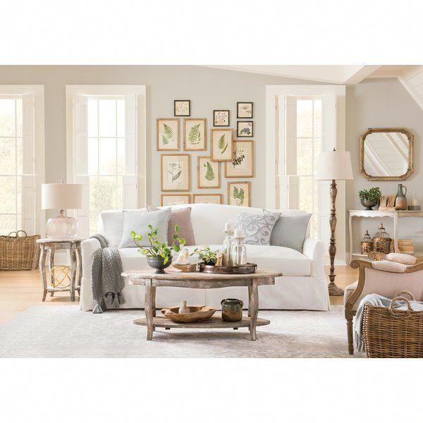 Fairchild Slipcovered Sofa Living Room Decor Traditional Living
