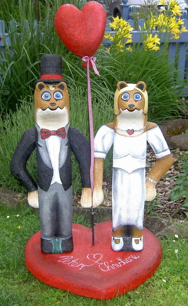 Brautpaar, 3D-Ziel für Bogenschützen aus Ethafoam 400, Bogenschießen