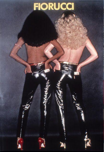 """1976 — Fiorucci opens next to Bloomingdale's on East 59th Street in NYC. It became known as the """"daytime Studio 54"""" and attracted trendsetters and celebrities like Andy Warhol."""