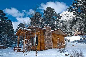 Estes Park In Winter | Estes Park | Cabin and Cottage Guide | Colorado