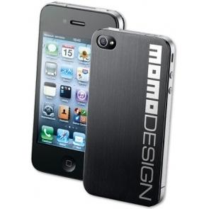 HUSA MOMODESIGN MOMOHTOPIPHONE4BK STEEL BACK PT. IPHONE4/4S