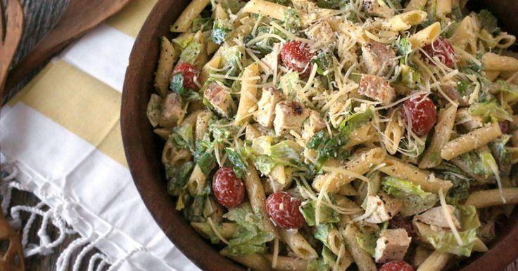 Chicken Caesar pasta salad recipe - Everyday Dishes & DIY