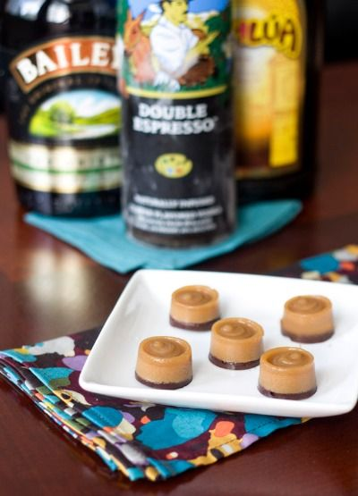 Mudslide Jell-o Shots--I don't know if I should put this on the 'Drinks' board or 'Treats'...decisions, decisions...