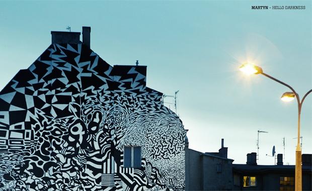 Martyn - Hello Darkness #erosie #poznan   http://www.outerspaces.pl/