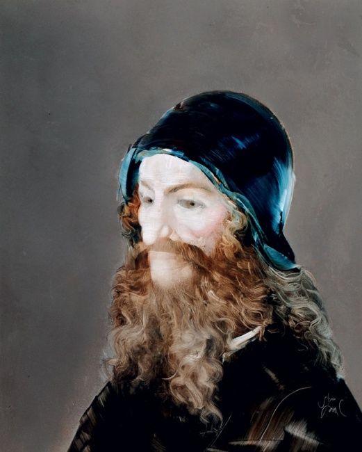 SZÁSZ ENDRE (1926-2003)Férfi portré