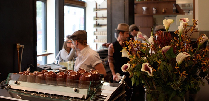 New York: Stumptown in the ACE hotel. Best hats in town. And also sensational lattes.