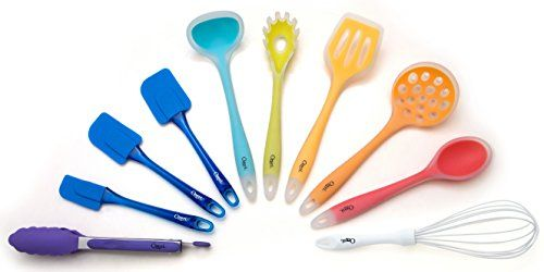 Ozeri 11 Piece AllInOne Silicone Utensil Set Multicolor -- Want to know more, click on the image. (Note:Amazon affiliate link)