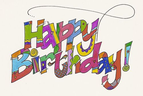 Happy Birthday by carmelscribe, via Flickr