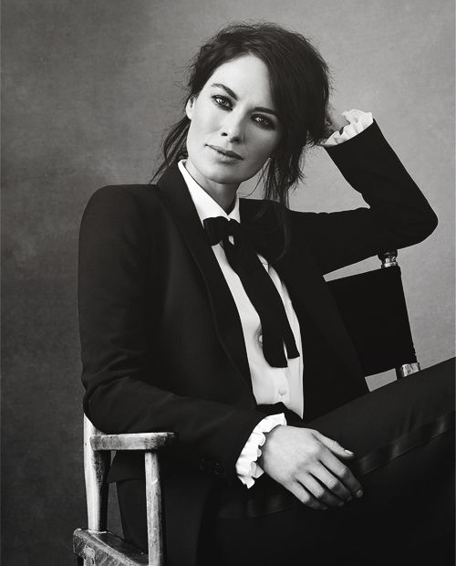 Lena Headey photographed by Bjorn Iooss...