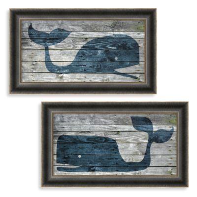 Driftwood Whale Wall Art - BedBathandBeyond.com $71.99