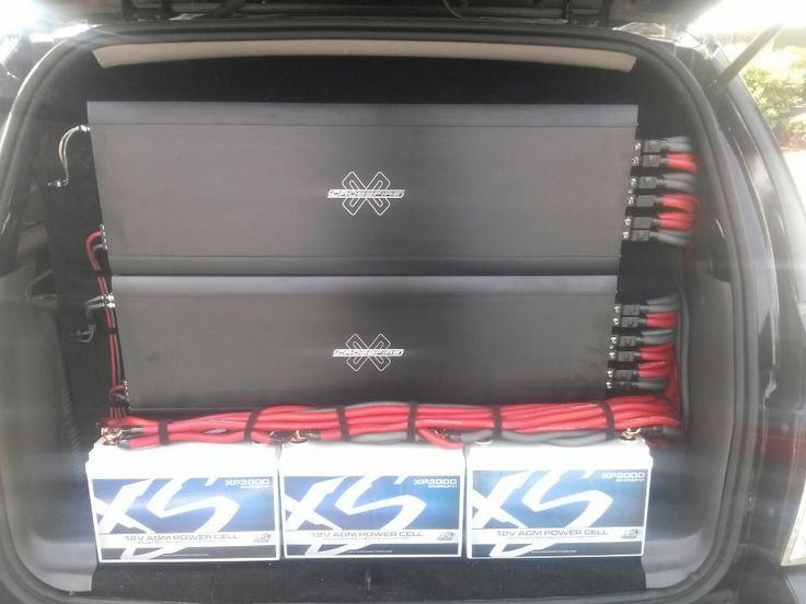2-Crossfire XS 8k's - Car Audio Classifieds