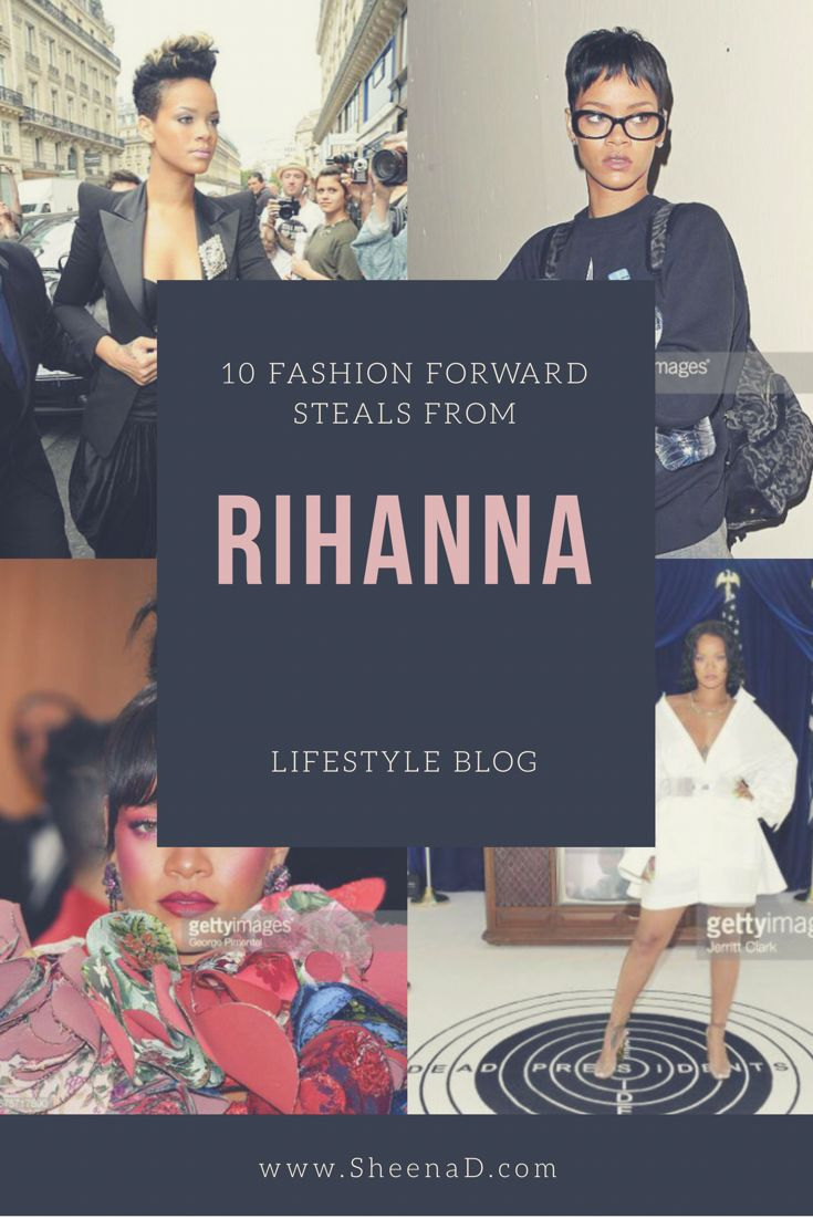 But just how does Rihanna optimize all her fashion elements and slay every single time on the red carpet or on just Add some flair and high fashion inspiration to your fashion sense with Rihanna. Without doubt, Rihanna has an eye and taste for fashion we don't often encounter nonetheless, it works. Simply put, whatever she puts on, she recreates.  Here are ten steals from Rihannas looks you can add to your wardrobe to upgrade your outfit of the day: