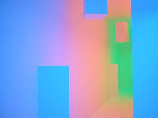 Carlos Cruz-Diez, Chromointerference Mécanique, the art of neon, love neon
