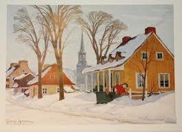 Clarence Gagnon, Quebec