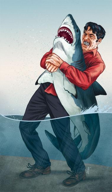 Jaws vs Jaws.