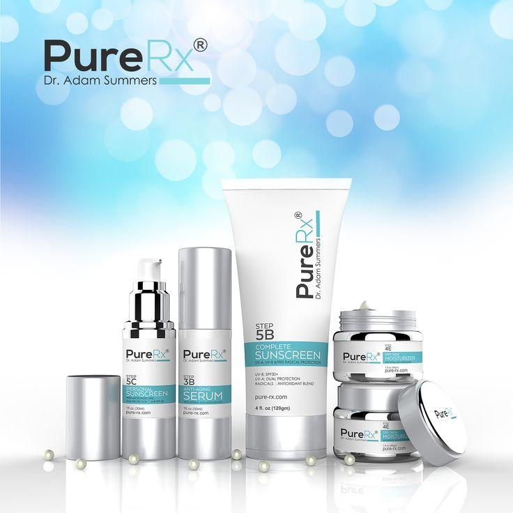 PureRx Medical Skin Care Product Label