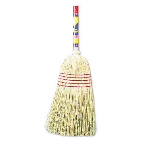 """UNISAN Maid Broom, Mixed Fiber Bristles, 42"""" Wood Handle, Natural by UNISAN. $11.99. UNISAN Maid Broom, Mixed Fiber Bristles, 42"""" Wood Handle, NaturalFor light-duty sweeping. Five rows of stitching. Lacquered wood handle. Global Product Type: Brooms; Application: Floors; Bristle Material: Mixed Fibers; Bristle Length: N/A.SKU: UNS920Y - Sold as 1 EA"""