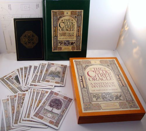 The Celtic Tree Oracle System of Divination Liz & Colin Murray Vanessa Card Book