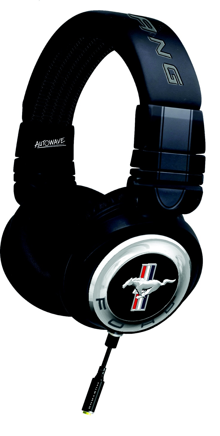 Ford Mustang headphones, If I Ever Have An Extra 150 Dollars I'm Buying These