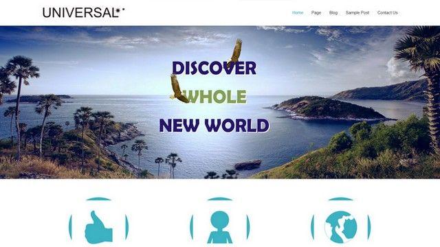 Universal - A Beautiful WordPress Theme by Themes4all .