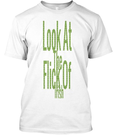 I made a St Patrick's Day Rap Shirt. Thank me later or facepalm now.