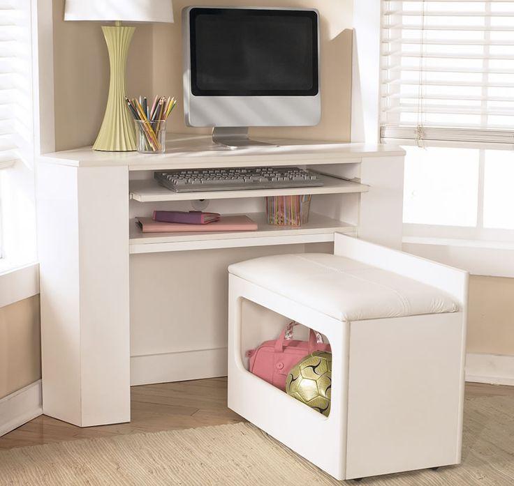 best 25 white corner desk ideas on pinterest desk to. Black Bedroom Furniture Sets. Home Design Ideas
