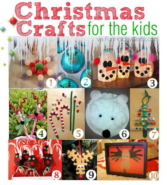 40 Christmas Craft Ideas To Try This Year: Need To Keep Your Kids Occupied Over Christmas Break, Or
