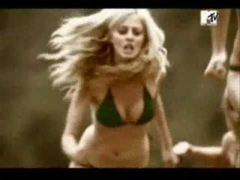 The AXE Effect - Women - Billions - YouTube This is a commercial for Axe that tries to sell an image. In this ad a mess of women are running towards the scent of the Axe body spray. The hope of this ad is that using the product will result in the attention of women, hopefully an army of women wearing bikinis. This goes into objectifying women by the way they are dressed and that all you need is a good smell and they'll come running.