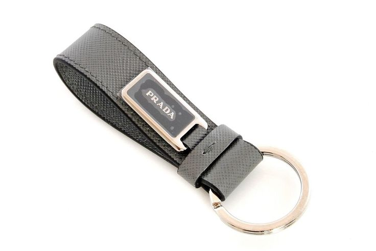 Prada Leather Keychain QaLUbJJU3f
