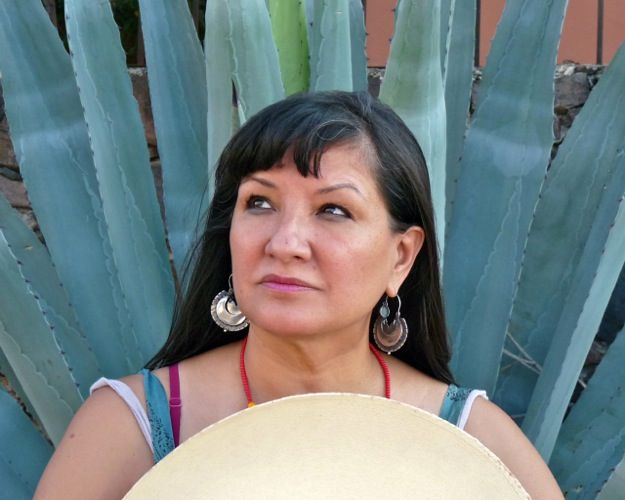 """Sandra Cisneros / Author -  """"I believe in la Divina Providencia because of the extraordinary places my life has taken me.  I believe in the power art has to save lives,..."""