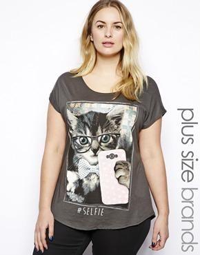 New Look Inspire Kitten Tee