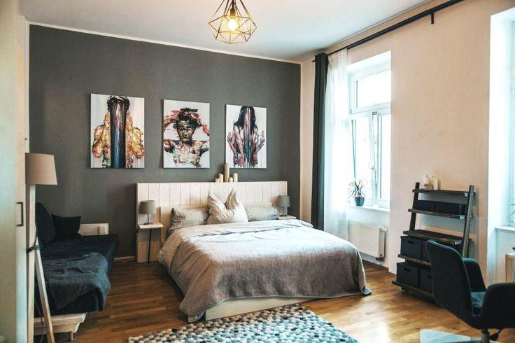 ... WG-Zimmer in Leipzig. #Zwischenmiete #Leipzig #Art #bedroom #WGZimmer