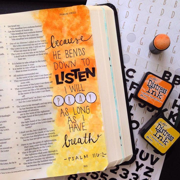 Created by: Jacqueline Miller - Bible Journaling, Bible Art Journaling.