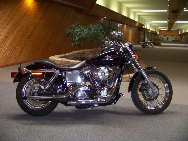 Harley Davidson Purple Super Low Rider
