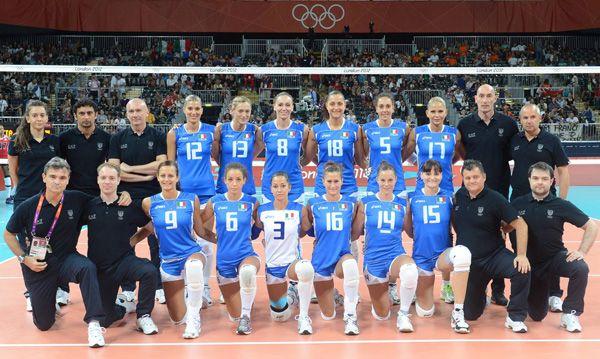 Italian team (F)