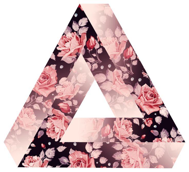 Rosey Penrose Triangle II by ~LeaLigot on deviantART