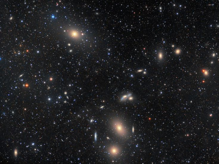 18 February 2017 | Markarian's Chain of Galaxies