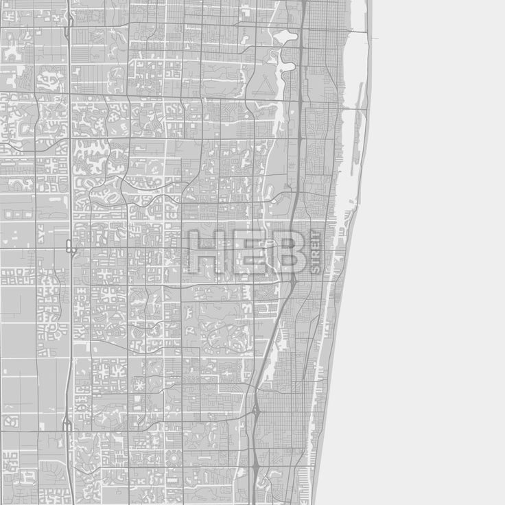 Boynton Beach downtown and surroundings Map in grey version with many details for high zoom levels. This map of Boynton Beach contains typical landmar... ... #map #download #citymap #areamap #usa #background #clean #city #area #modern #landmarks #ui #ux #hebstreit