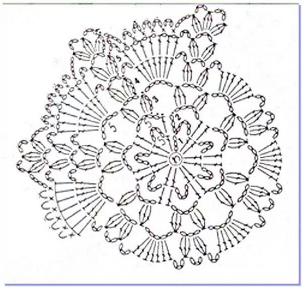 Mejores 144 imágenes de crochet mandalas en Pinterest | Tapetes de ...
