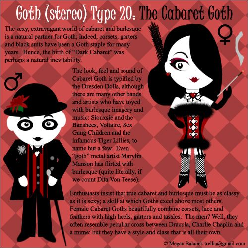 Goth Type 9: The Mopey Goth by Trellia on DeviantArt