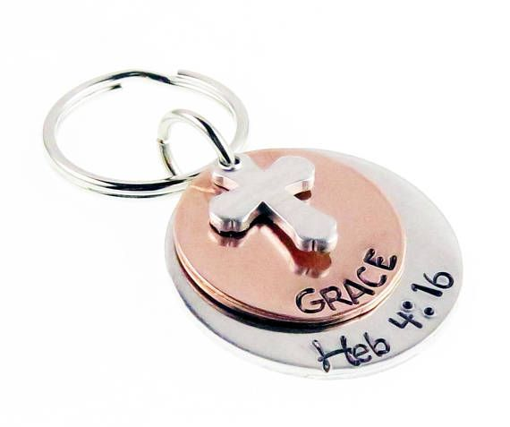 """Positive Words /""""Be/"""" Graffiti Happy Strong Thankfull Charm Band Chain Key Ring"""