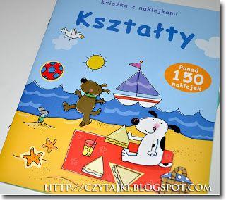 Czytajki - dziecięcych książek czar: Kształty. Książka z naklejkami - Stacey Lamb