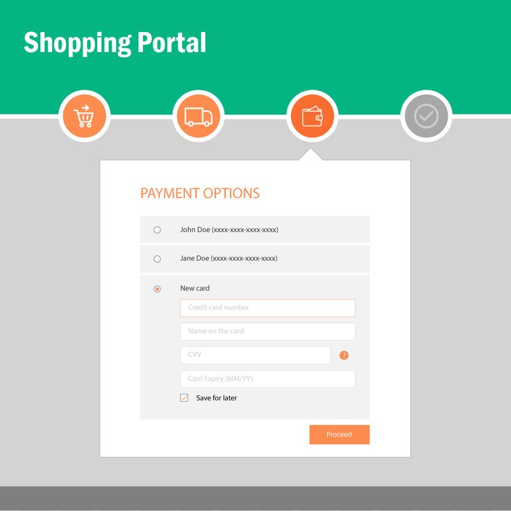 Day 002: Credit card payment page