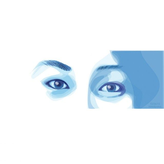 The eyes can do a thousand things that the fingers can't.  #eyes #sight #holiday #amateur #graphicdesign #tracing #art #vectorart #vector_id #adobeIllustrator