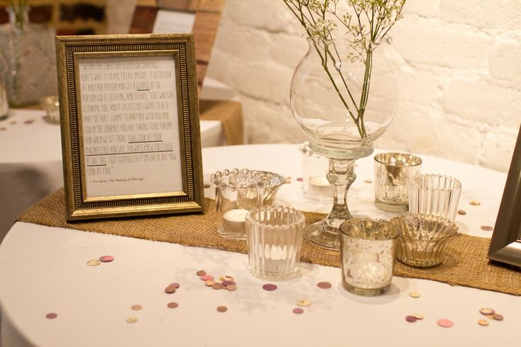 Wedding decor #FathomGallery #EventsVenue #WashingtonDC #Wedding Photo by Lorin Marie Photography