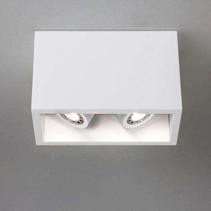 Osca 140 Twin Adjustable LED Taklampe - Spotter - Spotter   Downlight - Innebelysning   Designbelysning.no