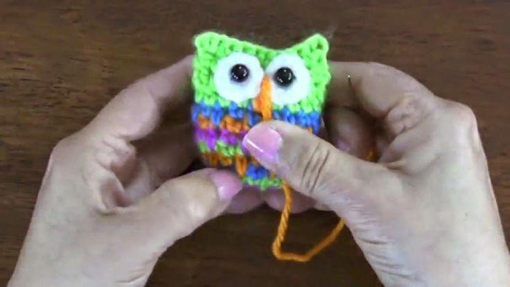 come creare un gufo segnalibro | Hobby lavori femminili - ricamo - uncinetto - maglia