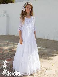 Resultado de imagen para vestidos comunion sencillos
