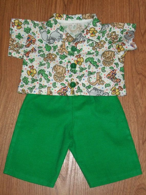 NEW For Cabbage Patch Kids Boy Doll Clothes 16 Jungle