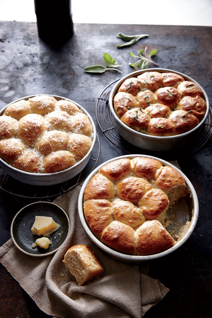 Bake these light and tender whole-grain rolls ahead and freeze up to 1 month, or make the dough ahead and bake on the day: Punch down the...